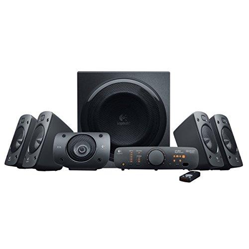 Amazon Prime Day: Logitech Z906 3D-Stereo-Lautsprecher THX (Dolby 5.1-Surround-Sound und 500 Watt) schwarz für 179,99€
