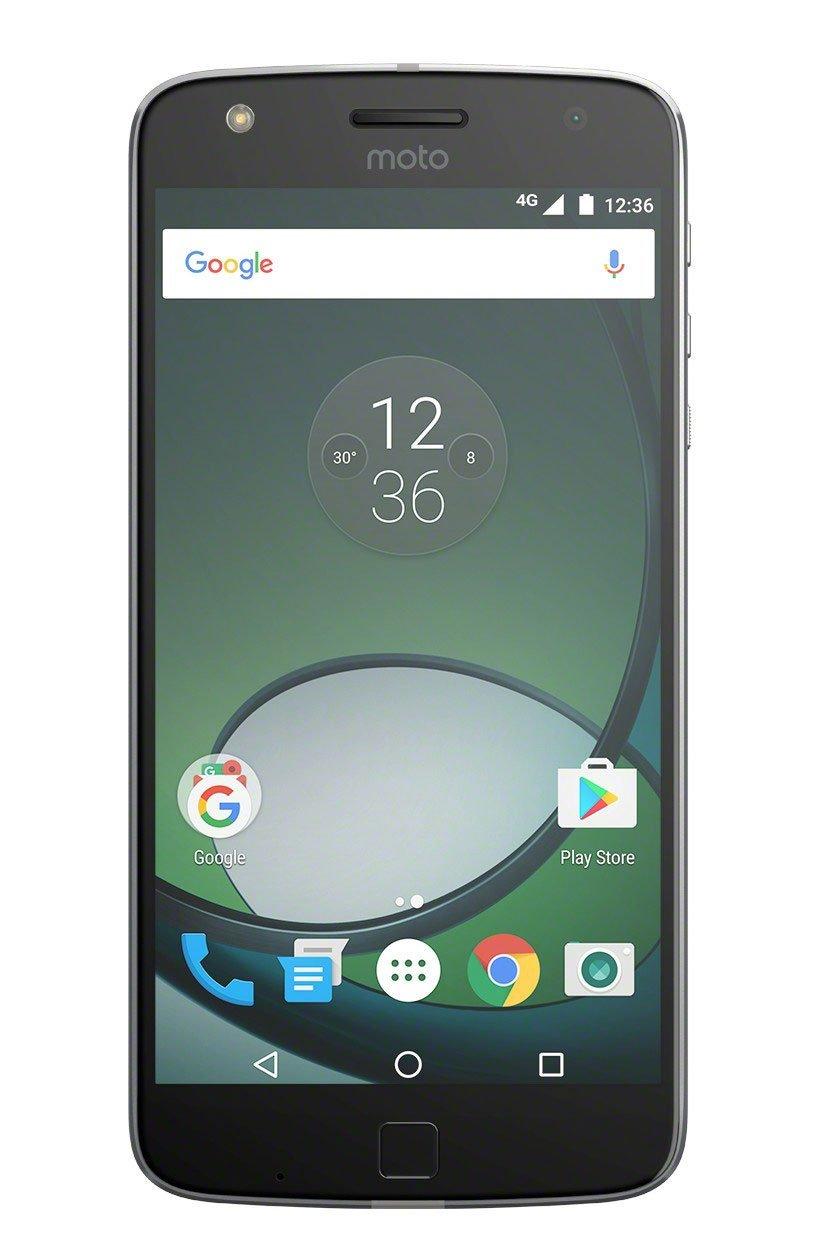 Motorola Moto Z Play Smartphone (14 cm (5,5 Zoll), 32 GB, Android) Schwarz/Silber für 205,63€ Zustand : Sehr gut ! Amazon WHD 20% Direktabzug im Warenkorb !