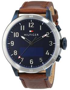 [amazon] Tommy Hilfiger 1791300  Elegante Herrenuhr Smartwatch | Android u. IOS