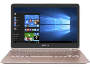 [Saturn] ASUS UX360UAK-BB354T, Convertible mit 13.3 Zoll Display, Core™ i5 Prozessor, 8 GB RAM, 256 GB SSD, HD-Grafik 620, in Gold für 699,-€ + 150,-€ Cashback
