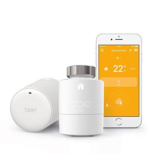 tado smartes Heizkörper Thermostat Starter Kit & Zusatzthermostate (Prime Day)