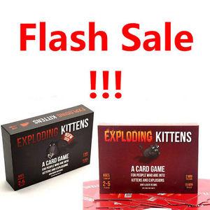 [ebay] Exploding Kittens Normal/NSFW für 11,99€ oder beide für 20,99€
