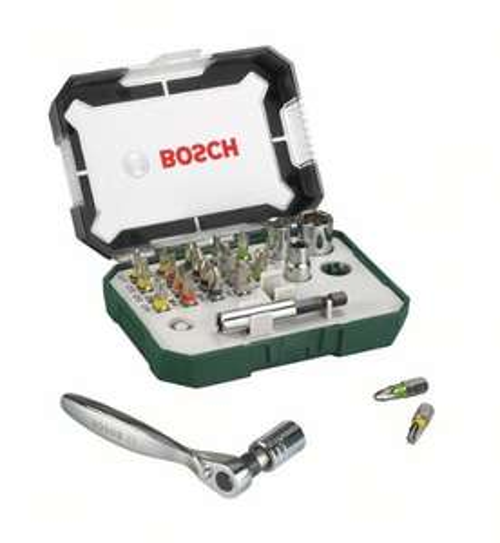 [Prime Day] Bosch DIY 26tlg. Schrauberbit- und Ratschen-Set