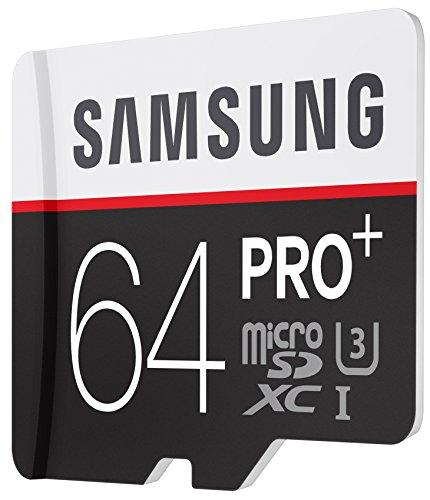 [AMAZON Prime] Samsung Speicherkarte MicroSDXC 64GB PRO Plus UHS-I Grade U3 Class 10