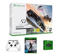 Xbox One S 500GB Konsole - Forza Horizon 3 Bundle + Rise of the Tomb Raider + Xbox Wireless Controller Weiß + Xbox One Chatpad für 229€ (Amazon Prime Day)