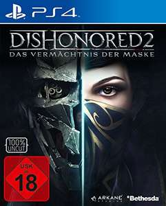 DIshonored 2 (PS4) [+5 Euro Versand da Altersnachweis] bei Amazon Prime Deals