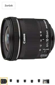 Canon EF-S 10-18mm 1:4.5-5.6 IS STM Objektiv