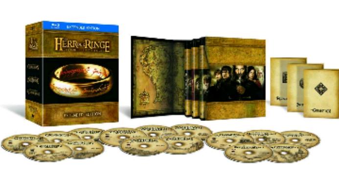 Amazon Prime Day: Herr der Ringe Extended Edition (BluRay) für 33,97€ (bester Online Preis seit über 1 1/2 Jahren)