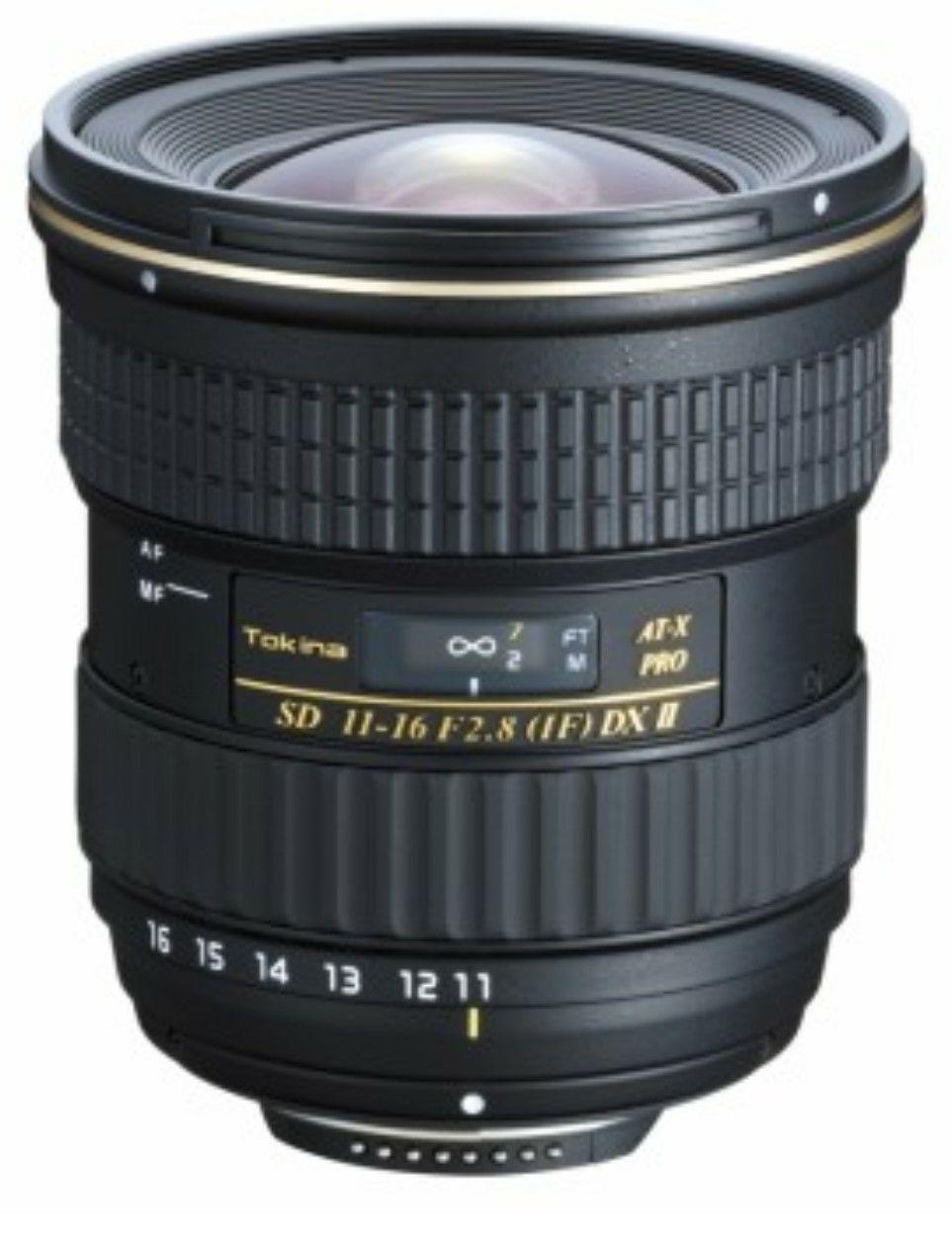 [Amazon WHD] Tokina AT-X 11-16mm DXII UWW Objektiv für Nikon, Canon, Sony