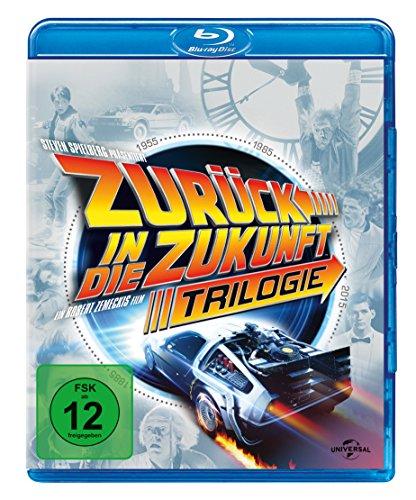 [Amazon Prime Day]  Zurück in die Zukunft - Trilogie (30th Anniversary Edition, 4 Discs) [Blu-ray]