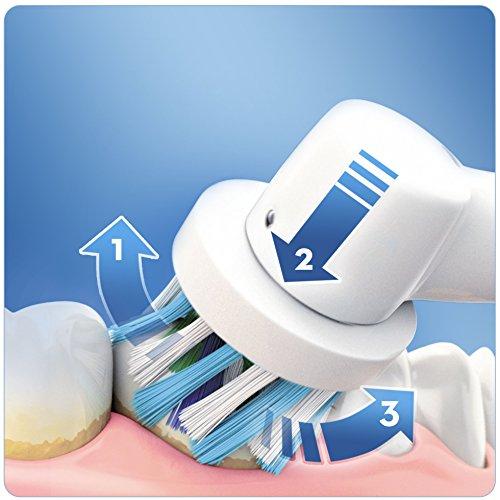 Oral-B Pro 690 Elektrische Zahnbürste, mit 2. Handstück, CrossAction Aufsteckbürste Amazon Prime