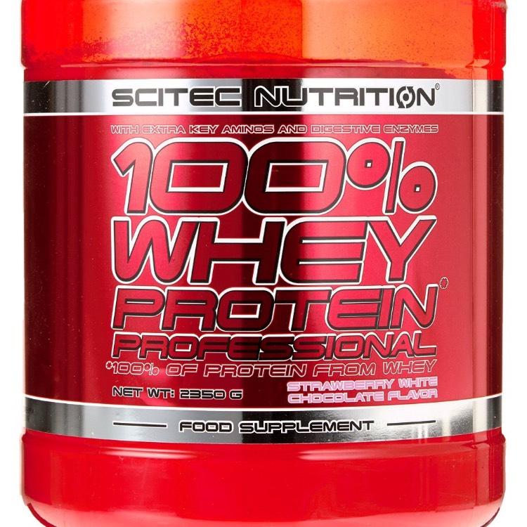 [amazon primeday] Scitec Nutrition Whey Protein Professional Diverse Sorten (1 x 2350 g)
