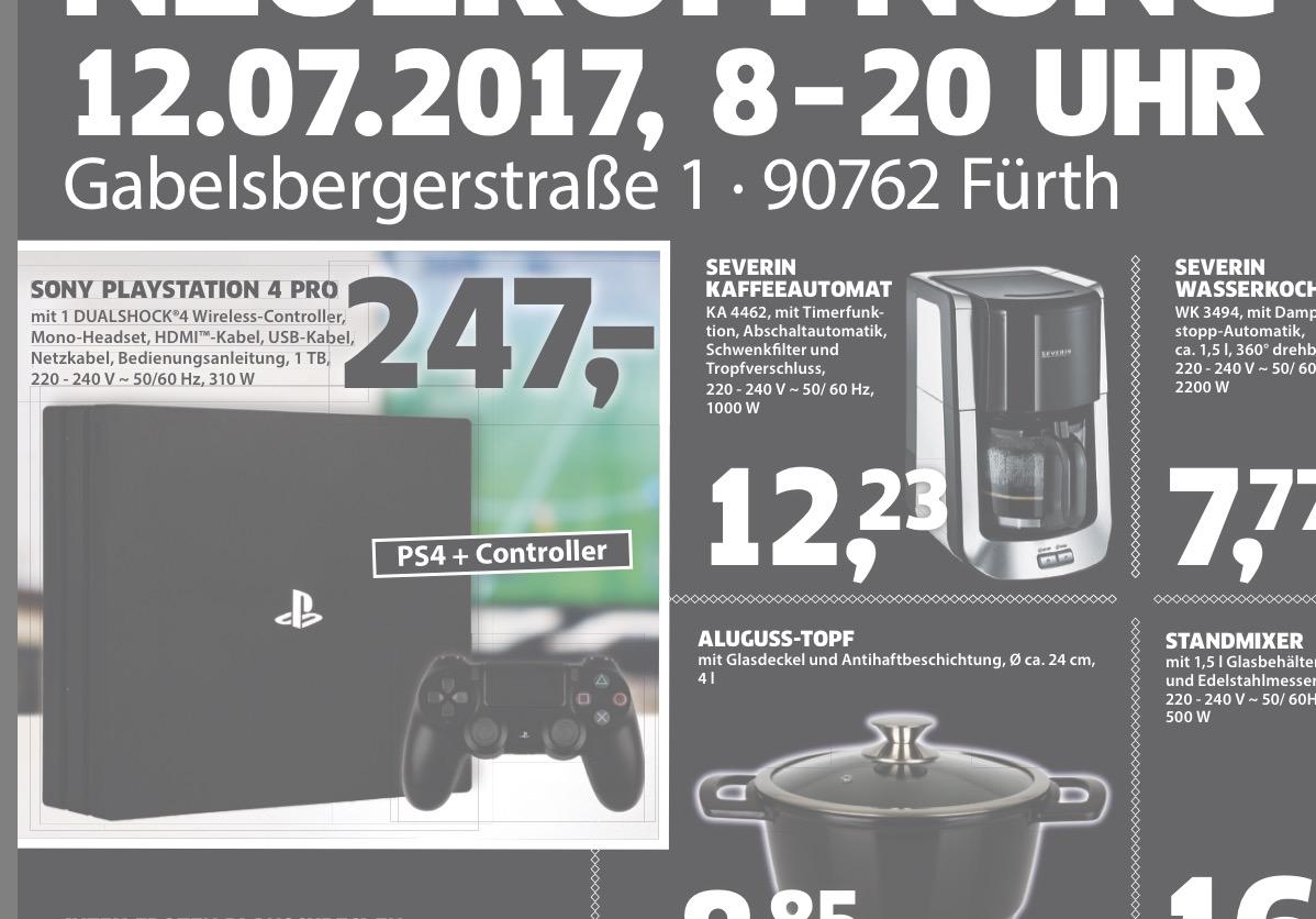 [Lokal] PS4 Pro in Fürth für 247€
