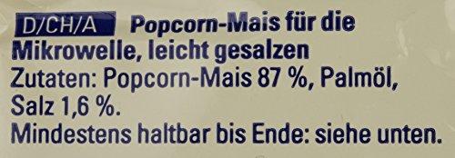 [Primeday]Seeberger Mikrowellen-Popcorn salzig, 11er Pack (11 x 100 g) für 6,84€