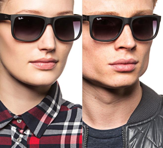 145 Ray Ban Sonnenbrillen-Modelle stark reduziert + 20% extra Rabatt bei Brands4Friends @ebay, z.B. Justin unisex Brille für 59€ statt 87€