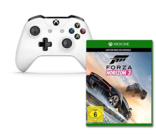 Xbox Wireless Controller S (Weiß) + Forza Horizon 3 (Xbox One) für 59,97€ (Amazon Prime Day)