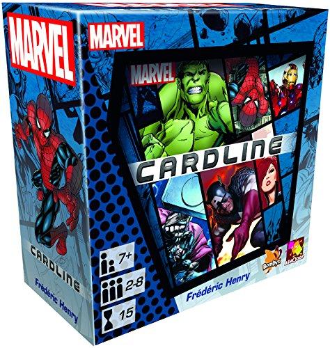 Marvel Cardline Kartenspiel (Asmodee 002799) für 11,12€ (Amazon Prime Day)