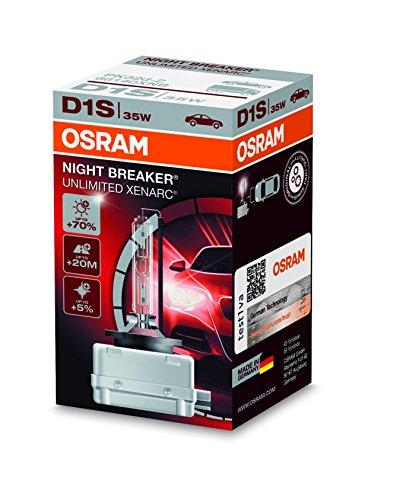 Osram Xenarc Night Breaker Unlimited D1S HID Xenon-Brenner (40,29€)[einmalig bestellbar]