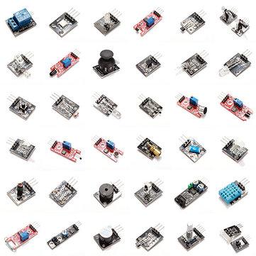 @ banggood 37 in 1 Sensor Module Kit für Arduino mit Plastik Tasche Verpackung