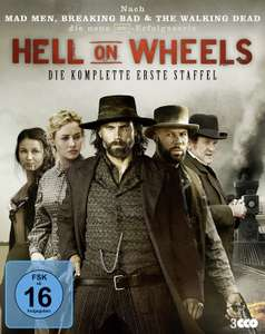 Hell on Wheels Staffel 1 - 3 Blu Ray (Prime Day)