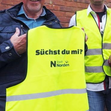"""Kostenfreie Warnweste zum """"Tag des Fahrrads"""" [lokal Norden]"""