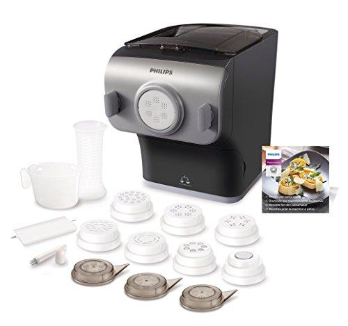 [Amazon Prime Day] Philips HR2358/12 Pastamaker 148,99€ (vollautomatische Nudelmaschine, mit Wiegefunktion und 8 Formscheiben)