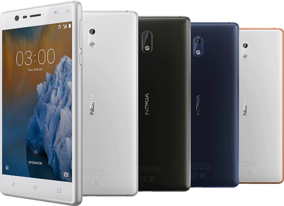 Telekom 2 in 1 Smartpack: Nokia 3 + 6 Monate 1GB Surfflat, Telekom SMS und Telefonflat, Flat zu einer Festnetznummer für 149,95 im Telekom Shop und Fachhandel