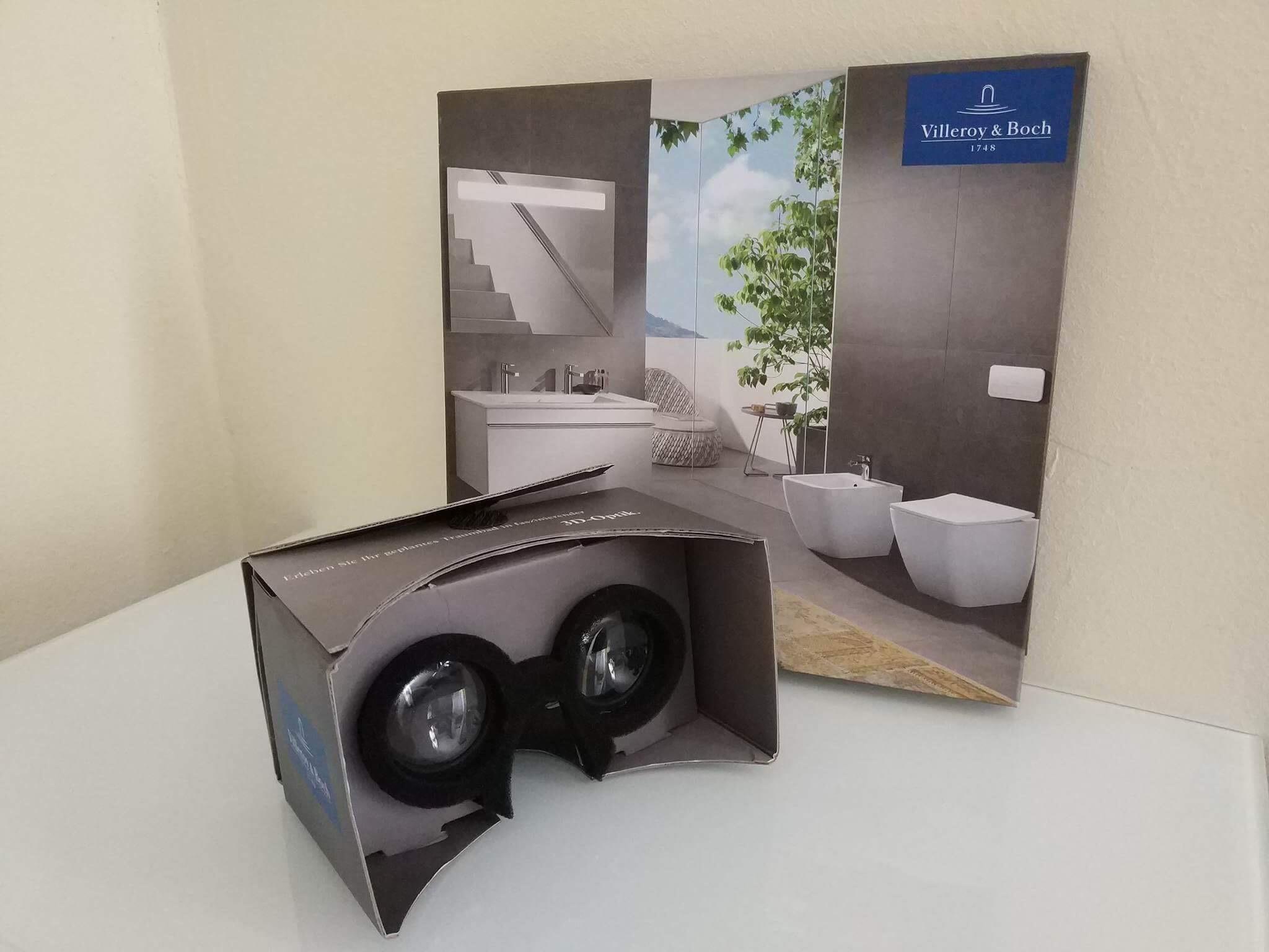 [villeroy-boch.de] VR Cardboard kostenlos nach kurzer Badeplanung!