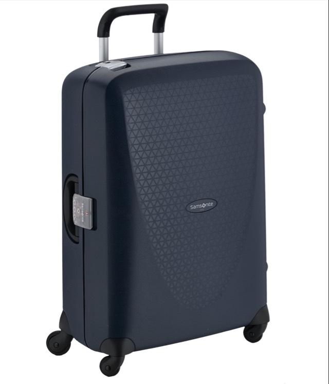 Samsonite Koffer Mittlerer Reisekoffer Termo Young Spinner 70/26 Koffer, 70cm, 69 L, Schwarz(Black) und weitere @ Amazon Prime