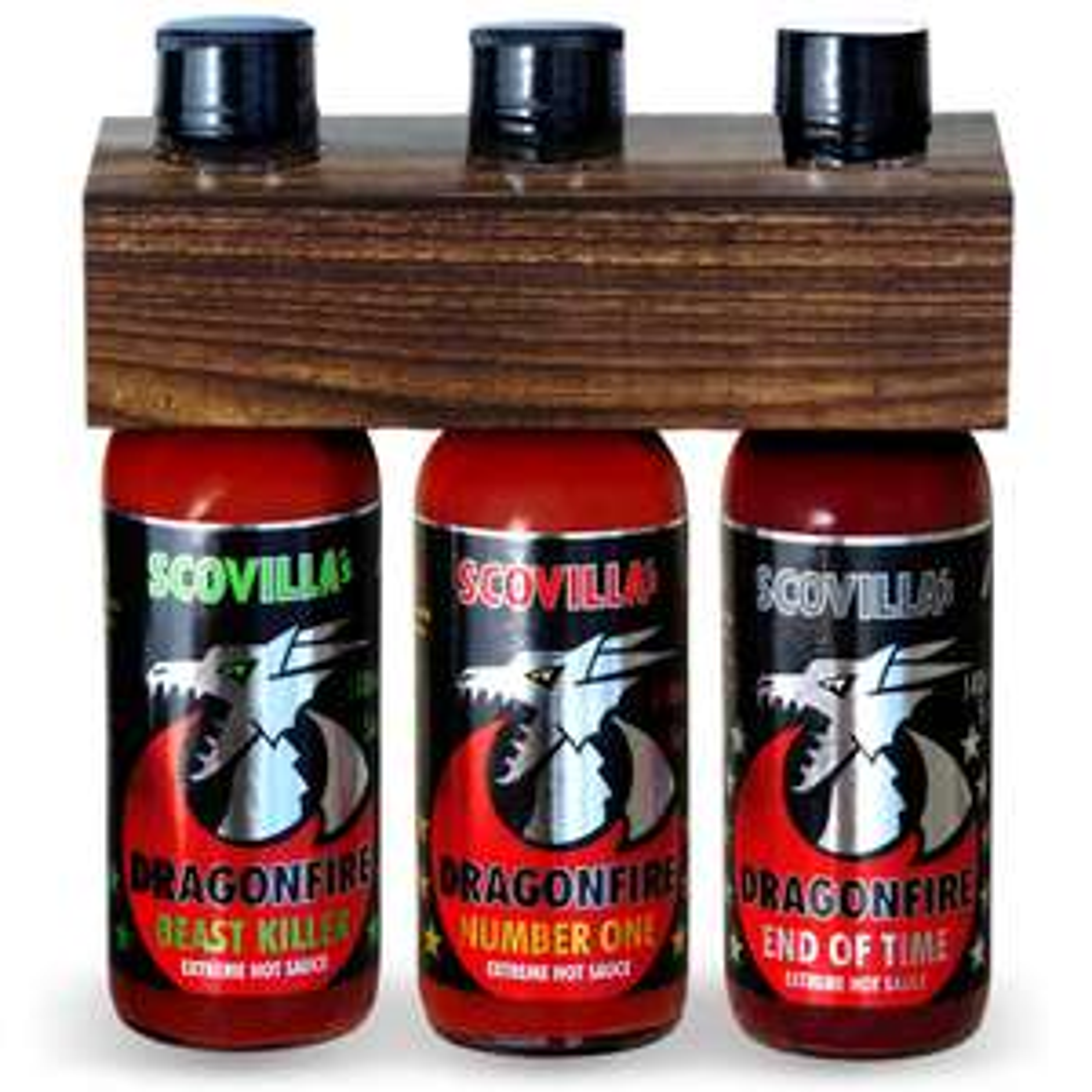 [scovilla] Dragonfire 3 Saucen Bundle (Ø 6,96€ / Sauce incl. Versand)