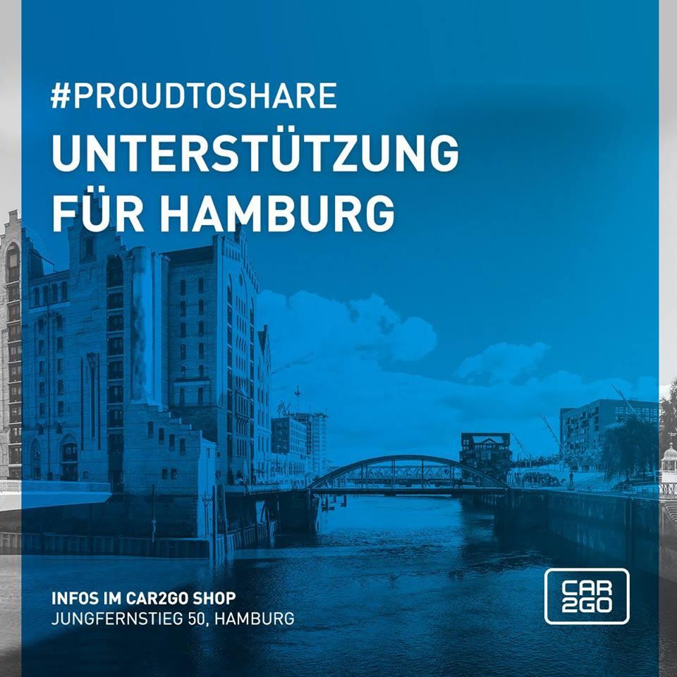 Car2Go kostenloste anmeldung + 300 Freiminuten für alle geschädigten Autobesitzer in Hamburg