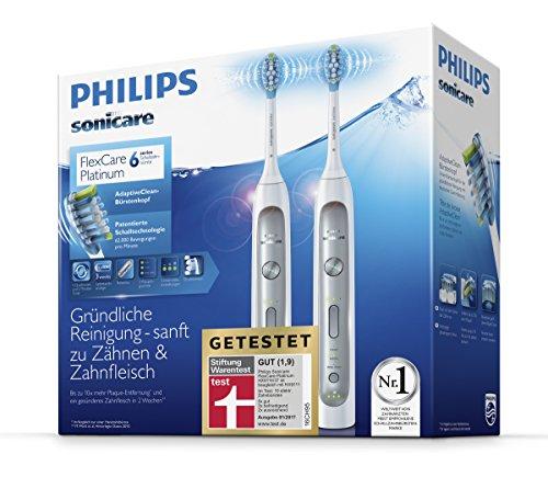 #primeday Schallzahnbürsten Philips Sonicare HX9114/37 im Doppelpack 118 statt 158 €