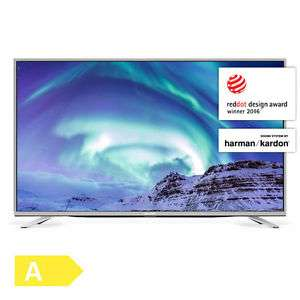 Sharp Aquos LC-55CUF8472ES TV (55'' UHD Direct-lit, 600Hz [interpol.], Triple Tuner, 3x HDMI 2.0, 3x USB, LAN + Wlan mit smart TV, VESA, EEK A) für 477€ [Ebay]