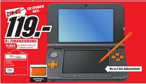 [Lokal Mediamarkt Göttingen] New Nintendo 3DS XL Orange Black für 119,-€