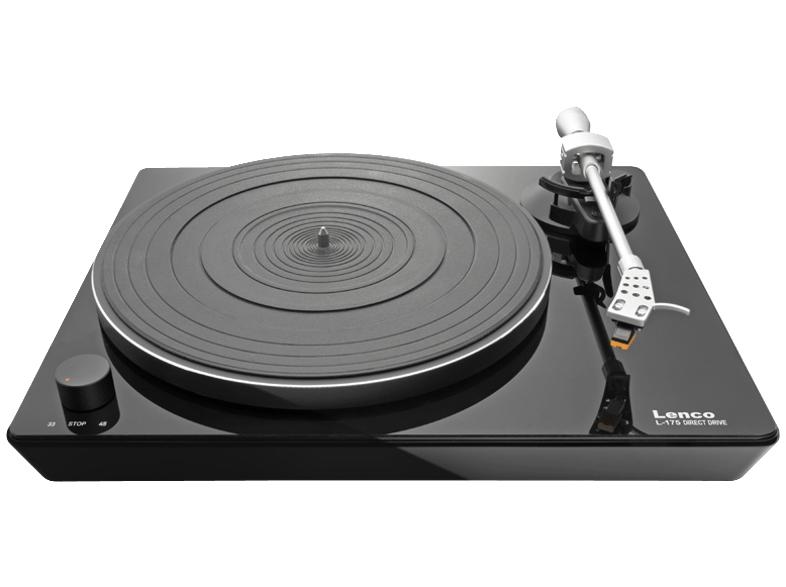 [MediaMarkt] Lenco L-175 Plattenspieler mit Direktantrieb in schwarz (MM Vorverstärker integriert)