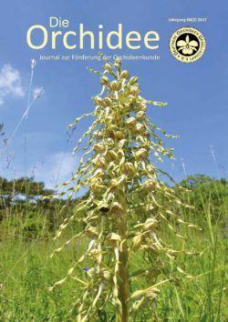 """Zeitschrift """" Die Orchidee """" kostenloses Probeheft. Keine Kündigung Notwendig"""