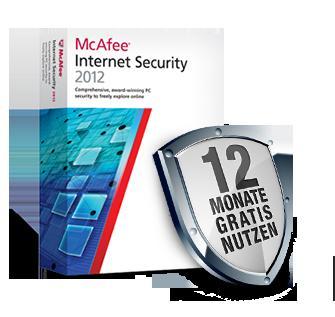 McAfee Internet Security für alle GMX-User 12 Monate kostenlos