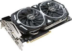 MSI GeForce GTX 1080 Ti Armor 11G OC für 658,95€ [Amazon.fr]