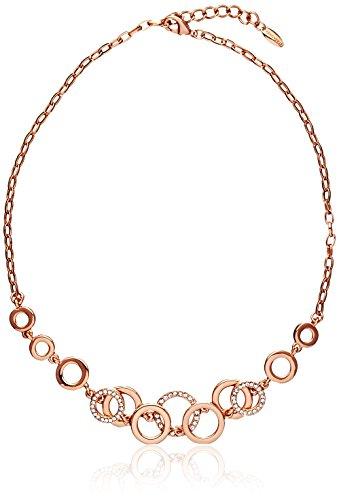 FANCYDELI Damen Rosegold Halskette Kette mit österreichischen Kristall 17,59€ @Amazon Blitz-Deal