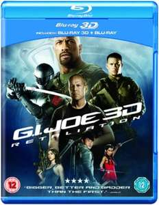 G.I. Joe: Die Abrechnung - Extended Cut (Blu-ray 3D + Blu-ray) für 3,10€ (Zoom.co.uk)
