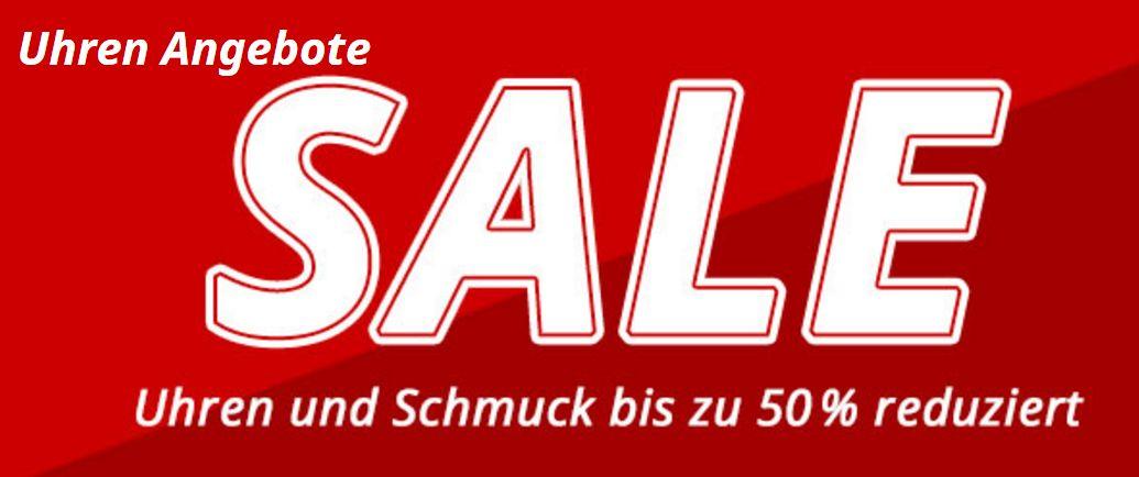 Uhren & Schmuck - Große Marken bis 50% günstiger - Aktion bei Uhrzeit.org
