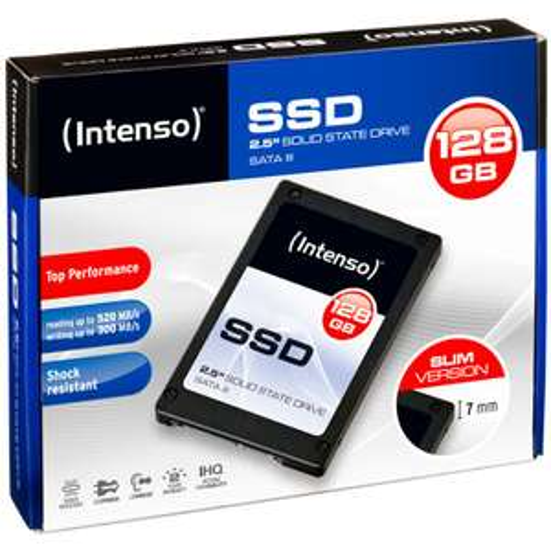 [Lokal Berlin] MM Wedding - Intenso SSD Sata III 128GB MLC - R: 500 W:300