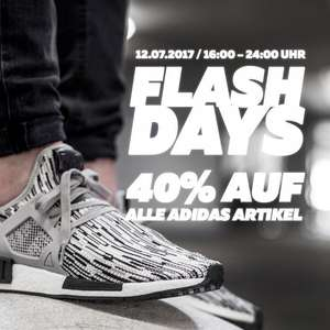 40% auf alle adidas Artikel - BURNER FLASH DAYS