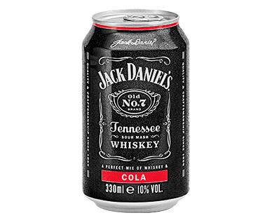 Jack Daniels Dosen für 1,99 € bei Aldi Süd bis 15.07