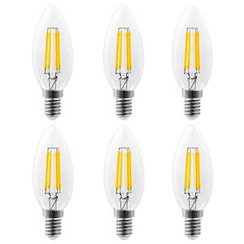 LED-Leuchtfaden Lampen E14 für 2,17€/Stück jede Lampe ersetzt eine 40Watt Glühlampe, dass heißt richtig gespart wird am Strom