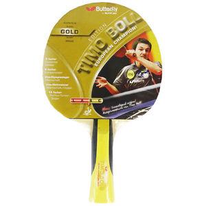 Tischtennisschläger Butterfly Timo Boll Edition Gold für 19,85€ bei Ebay  Ausverkauft