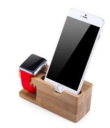 Handyhalter und Apple Watch Dockingstation, (Standvorrichtung)  (Gearbest)