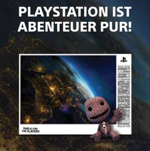 DIN A1 Sony PS4 4thePlayers Mosaik Poster kostenfrei