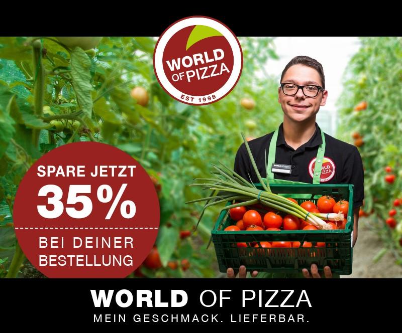 World of Pizza - 35% sparen