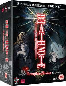 [zavvi] Death Note DVD-Komplettbox (jap/eng)